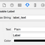Localizable label