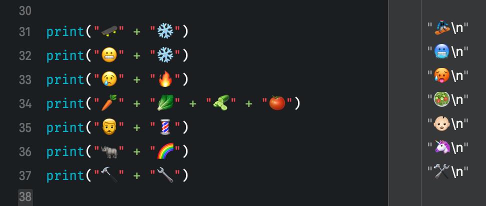 Custom operators in Swift to calculate with emojis