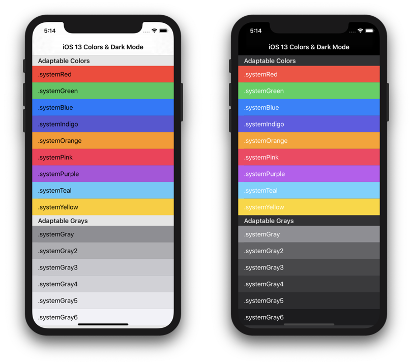 The SemanticUI app by Aaron Brethorst helps exploring Semantic and adaptable colors
