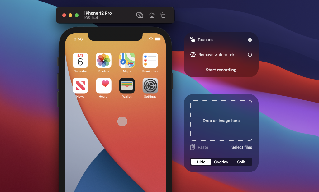 Record the iOS Simulator with Touches